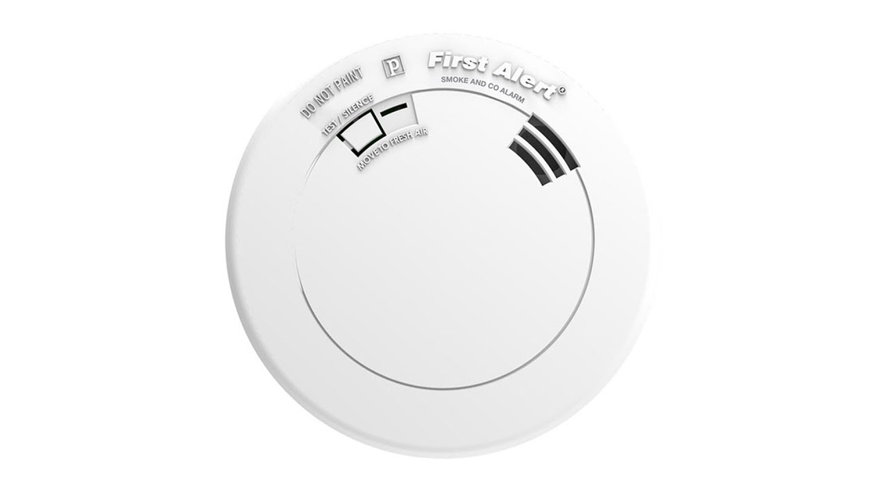 Carbon monoxide alarm sensor Home//Work//Office Wall//Ceiling mounted White
