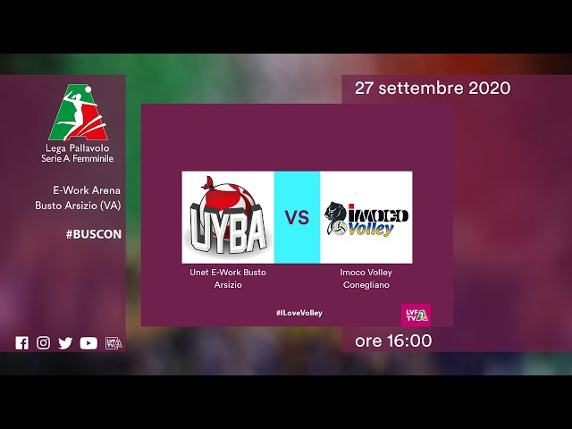 Busto Arsizio - Conegliano | Speciale | 2^Giornata Campionato | Lega Volley Femminile 2020/21