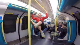 MIND THE GAP  Freestyle Football London Underground
