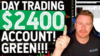 DAY TRADING WITH SMALL ACCOUNT! $GREEN DAY HOW I DO IT!