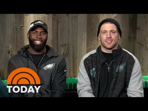Zach Ertz And Malcolm Jenkins On Eagles' Super Bowl Win: 'An Unbelievable Day' | TODAY