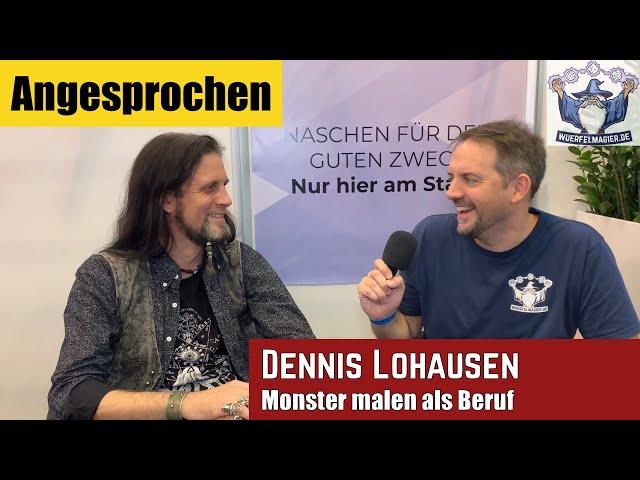 Angesprochen - Monster malen als Beruf: Dennis Lohausen