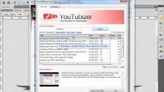 Embed Videos Directly in HTML5 Video Player through DMXzone Youtubizer
