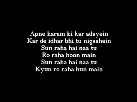 SUN RAHA HAI WITH LYRICS HD   Aashiqui 2 Song by Ankit Tiwari
