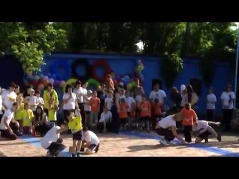В краснодарской прогимназии №63 лето началось со спортивного праздника