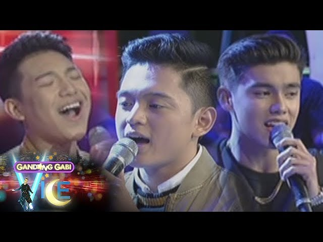 GGV: Darren, Jeremy, and Bailey serenade fans