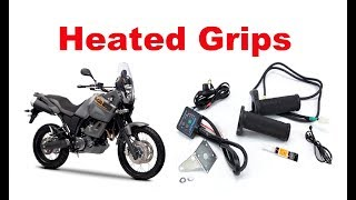 How to install heated grips on your motorcycle? - Step by Step!