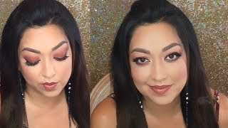 Monochromatic Makeup Look - Chit Chat - Get Ready With Me - Overcoming Fear/Anxiety - MommaChats
