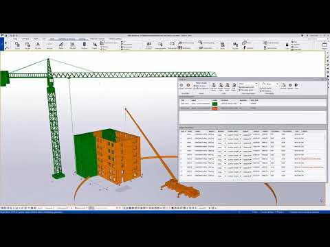 New Crane Tool in Tekla Structures 2021