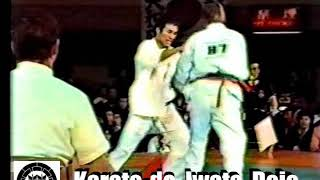 Fight from Kyokushin's The 2nd World Tournament in 1979, Tokyo. Con...