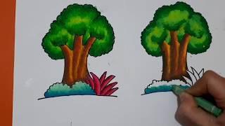 Download Lagu Cara Mewarnai Pohon Teknik Gradasi Mp3 Video Mp4