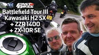 Battlefield Tour III - Kawasaki H2 SX /  ZZR 1400 / ZX-10R SE