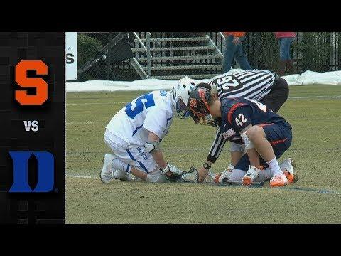 Syracuse lacrosse battles back to edge No. 3 Duke, 15-14