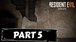 Resident Evil 7 Gameplay Walkthrough Part 5 (No commentary!)