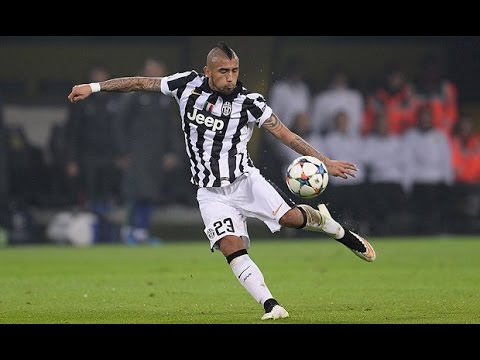 Arturo Vidal I All 48 Goals for Juventus