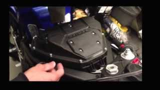 Yamaha 2009-2013 R1 K&N High Flow Filter Installation DIY