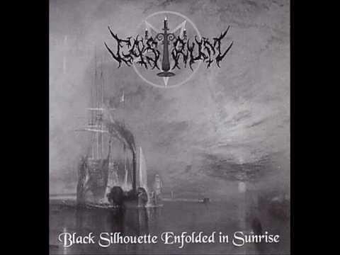 Castrum  Black Silhouette Enfolded In Sunrise