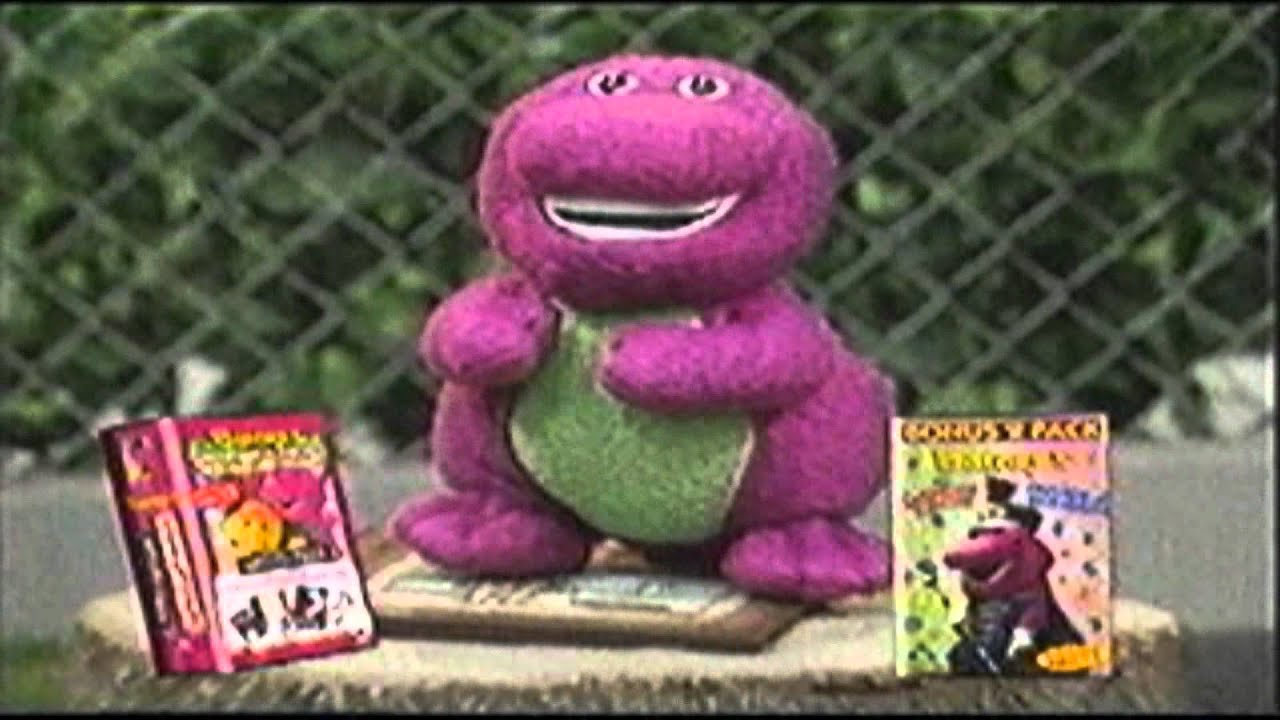 barney videos promo new uk vhs youtube