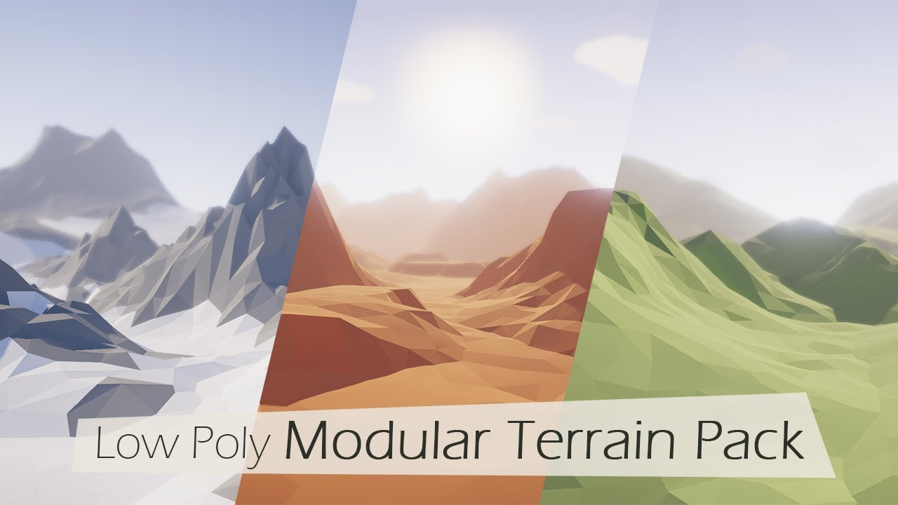 UPDATED] Low Poly Modular Terrain Pack - Unity Forum