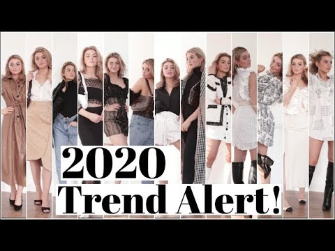 What to Wear in 2020! TREND ALERT!. http://bit.ly/2GPkyb3