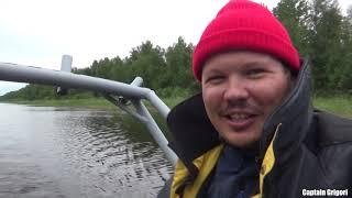 Ладожская кругосветка часть первая, 1000 км вокруг Ладожского озера на самодельном катамаране
