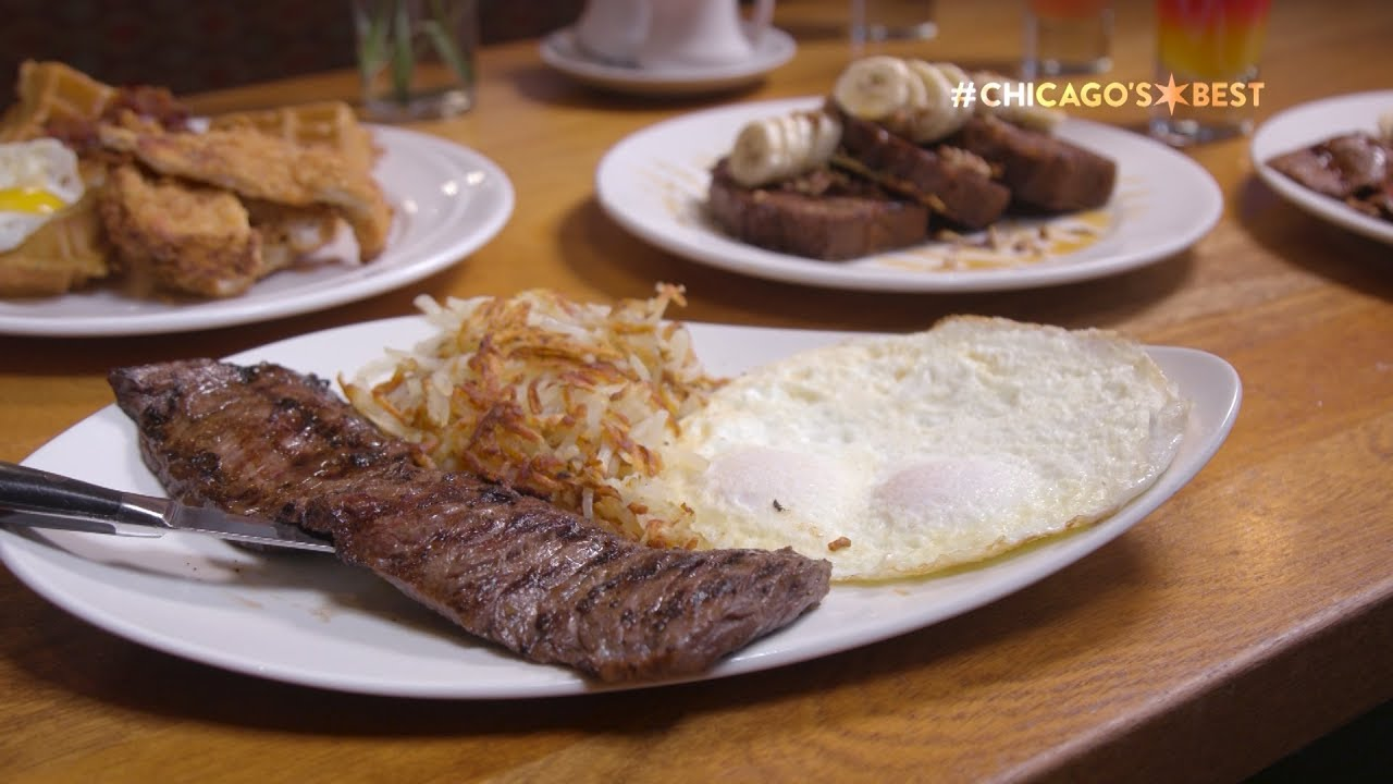 Chicago S Best Breakfast Meli Cafe Youtube