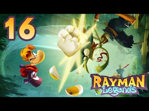 [Let's Play] Rayman Legends (Boss final et crédit de fin) (Épisode 16) [Fr]