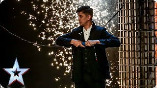 Ben Hart's MIND-BLOWING Victorian magic leaves Judges speechless | Auditions | BGT 2019