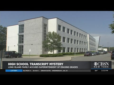 Missing Transcript Mystery Rocks L.I. School District