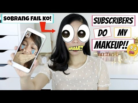 VIDEO CALLING MY SUBSCRIBERS TO DO MY MAKEUP (NAKU GRABEE TO BES!! STRUGGLE IS REAL..)