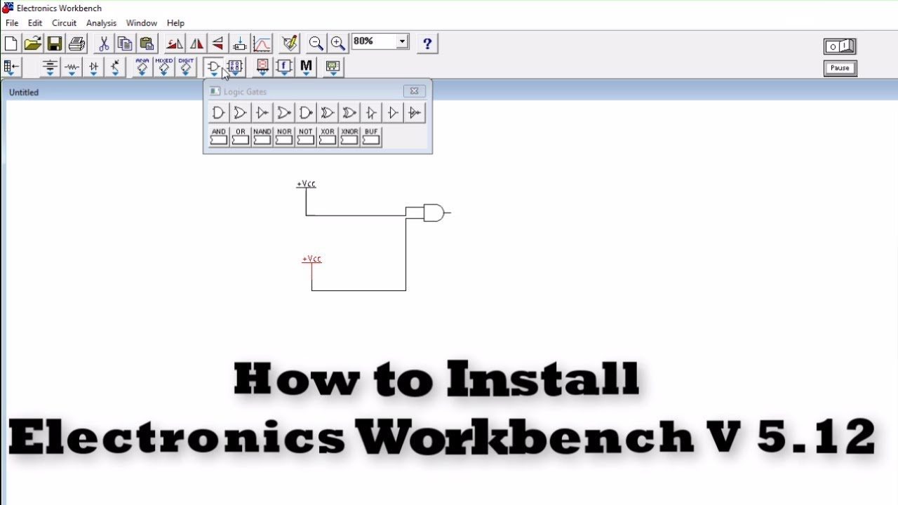 electronic workbench 5.12