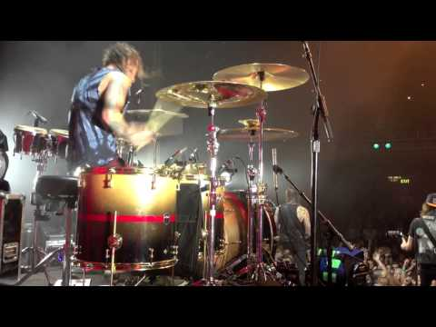 "Mike Fuentes, Pierce The Veil ""A Match Into Water"" Live in San Francisco, CA"
