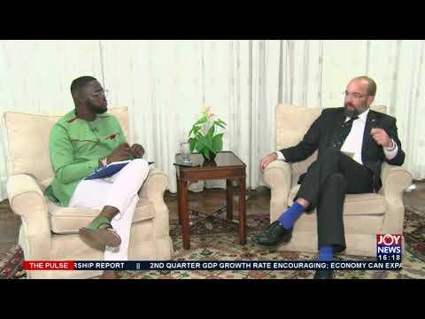 Ghana-UK Relations: UK Minister for Africa visits Ghana - The Pulse on JoyNews (17-9-21)