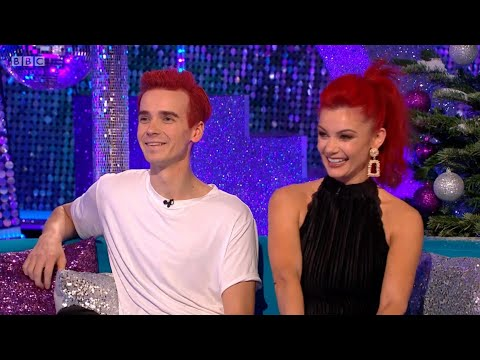 Joe Sugg & Dianne Buswell Strictly Come Dancing It Takes Two WEEK 13