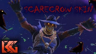 Fortnite Solo NEW HAY MAN Scarecrow Gameplay Halloween Skin!