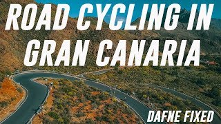 Team Dafne's cycling adventure in the Canaries | ep 1.  Running Gran Canaria