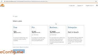 การสมัครและตั้งค่า Cloudflare เพื่อใช้งาน DNS Server กับ Free Domain