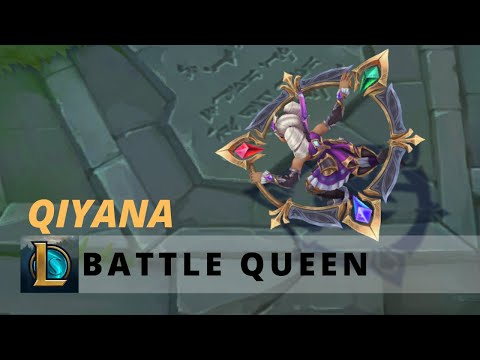 Battle Queen Qiyana - League of Legends