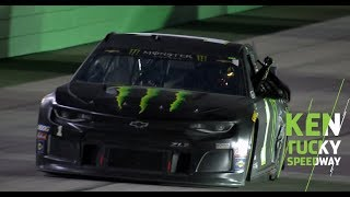 Kurt Busch narrowly beats brother Kyle for Kentucky win