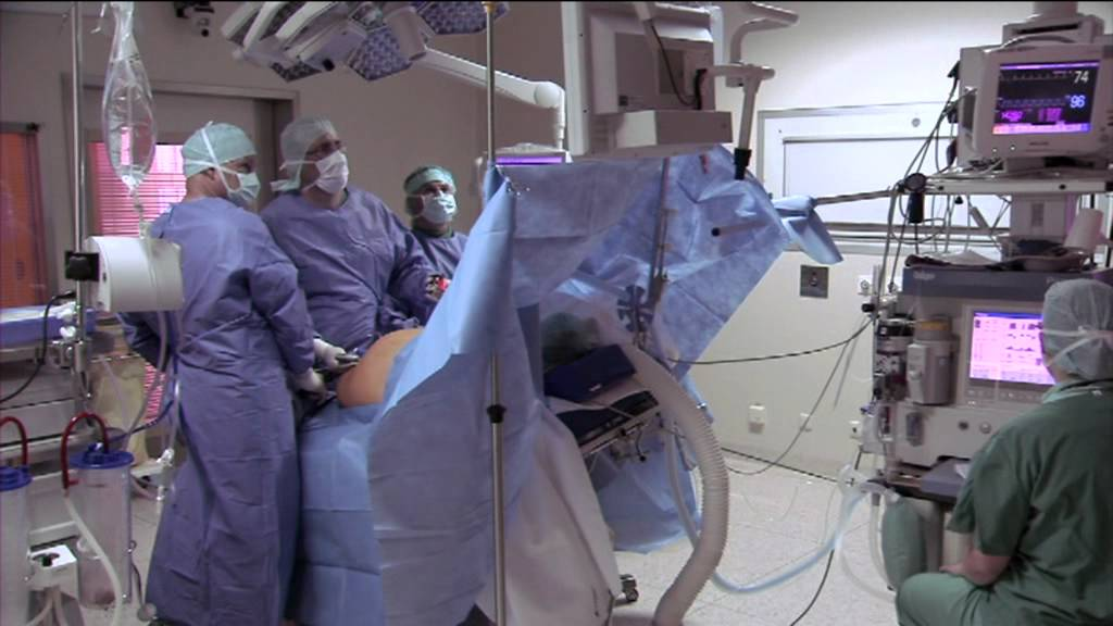 Minimalinvasive Operationstechniken (Darmoperation), TV Spot