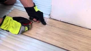 видео Укладка ламината возле дверей.Детальная инструкция.