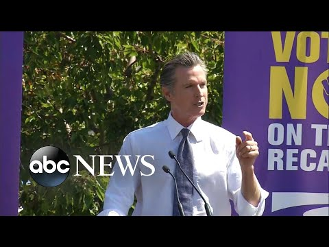 California recall election comes down to the wire