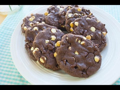 Double Chocolate Cake Mix Cookies   Simply Bakings