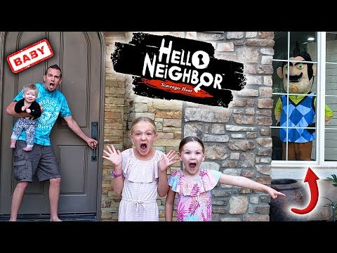 Hello Neighbor Steals