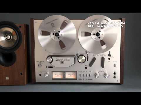 AKAI GX-4000D: Open