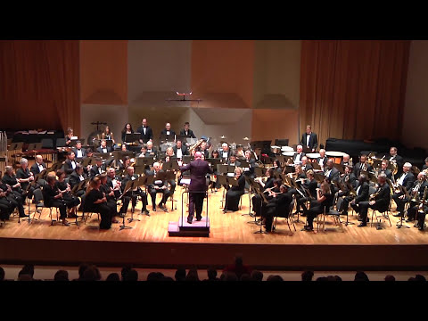 GREATER MIAMI SYMPHONIC BAND® in HD performing El Camino Real