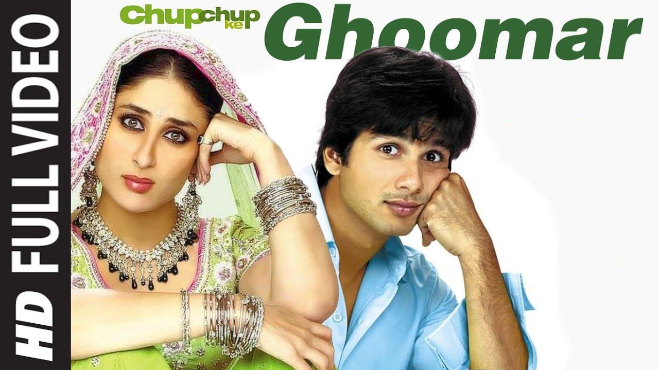 Download Ghoomar | Chup Chup Ke | Shahid Kapoor, Kareena Kapoor | K K, Sunidhi Chauhan | Himesh Reshammiya