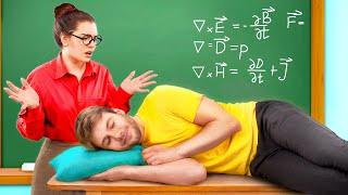 الطلاب الجداد مقابل الطلاب القدام في الكلية / 11 موقف مضحك ومحرج