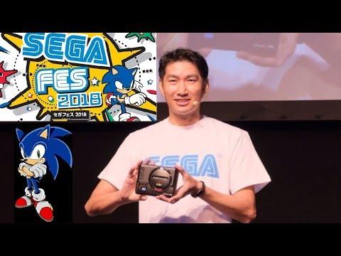 Sega is Back! Fes 2018 new Mega Drive Mini HD and more just announced