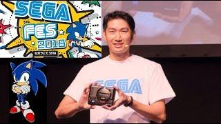 Sega is Back! UPDATE AT Games confirmed now NOOOO! Fes 2018 new Mega Drive Mini HD and more.